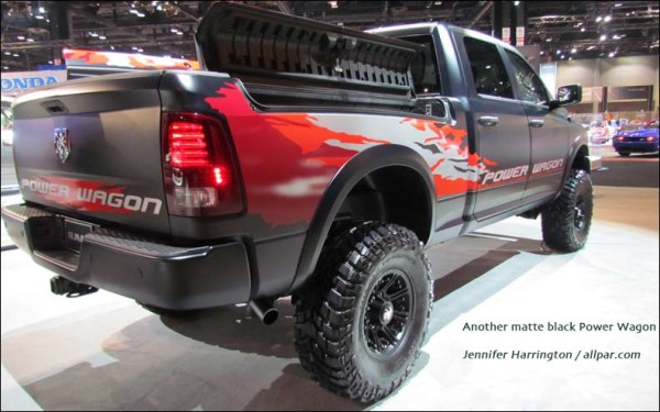 2015 Dodge Power Wagon Diesel back