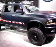 2015 Dodge Power Wagon Diesel front side
