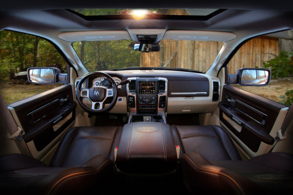 2015 Dodge Power Wagon Diesel interior