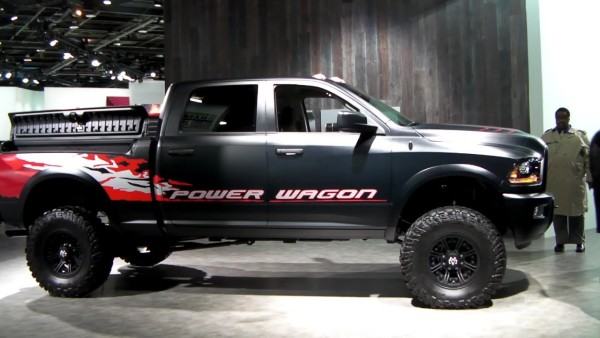 2015 Dodge Power Wagon Diesel side