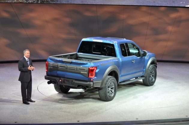 2015 Ford F-150 Raptor rear