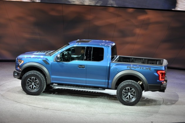 2015 Ford F-150 Raptor side