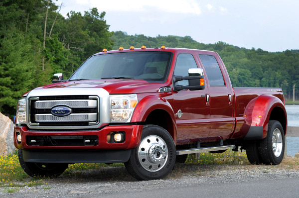 2015 Ford F-450 Platinum