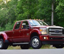 2015 Ford F-450 Platinum front side