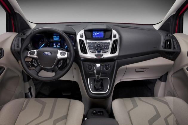 2015 Ford Transit Connect interior