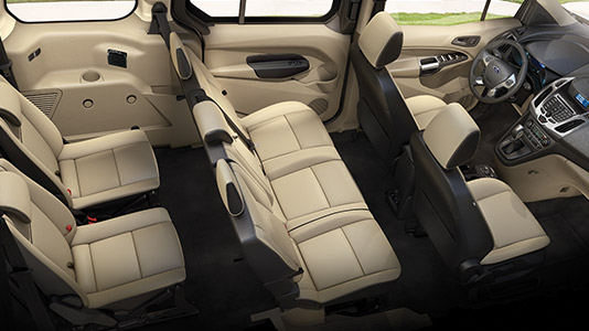 2015 Ford Transit Connect seats