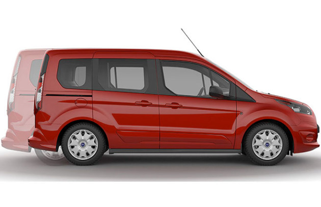 2015 Ford Transit Connect side