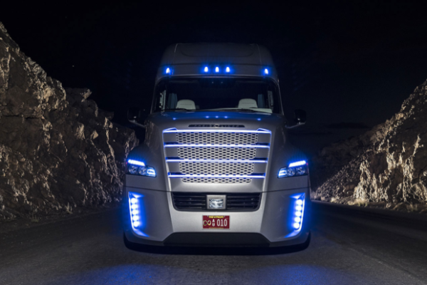 2015 Freightliner Inspiration Truck grill