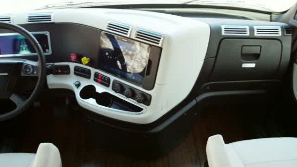 2015 Freightliner Inspiration Truck instrument table