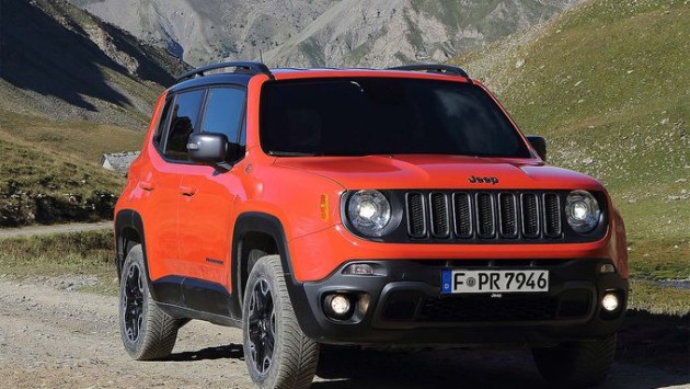 2015 Jeep Renegade 2.0 Mjet 4x4 Limited front side