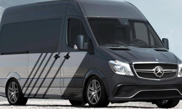 2015 Mercedes Sprinter 63 S front side