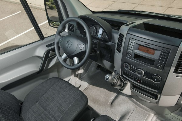 2015 Mercedes Sprinter 63 S inside