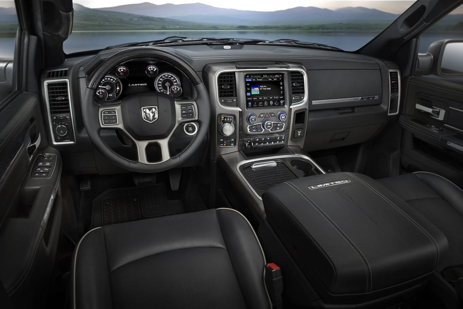 2015 Ram Laramie Limited interior
