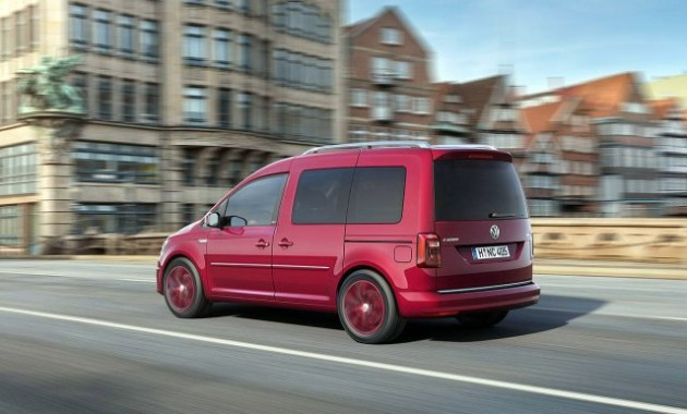 2015 Volkswagen Caddy rear