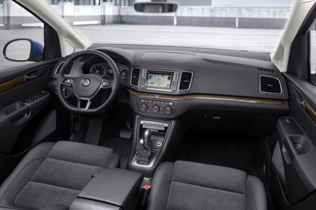 2015 Volkswagen Sharan interior