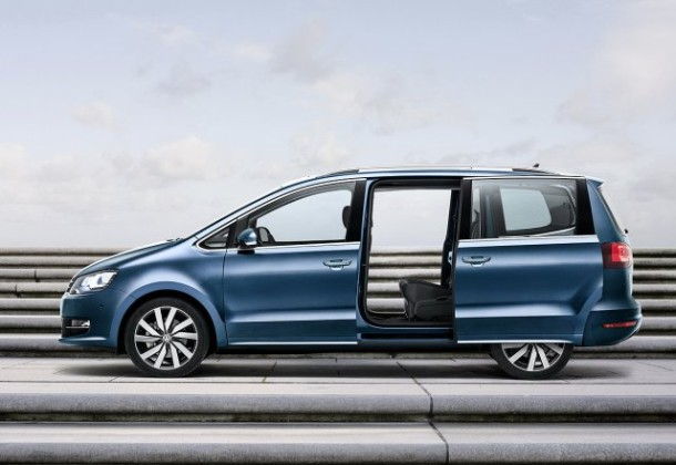 2015 Volkswagen Sharan open