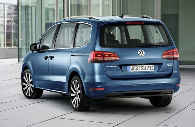 2015 Volkswagen Sharan rear