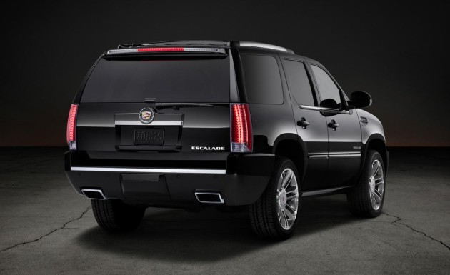 2016 Cadillac Escalade ESV rear side