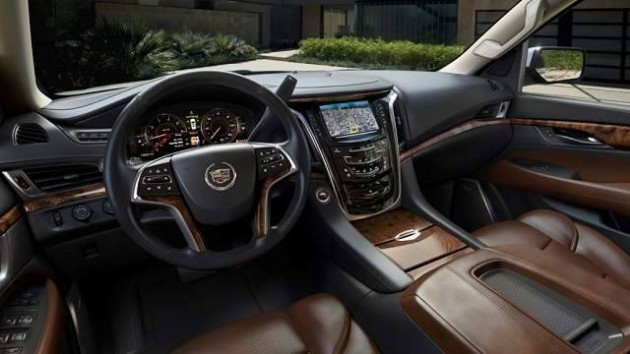 2016 Cadillac Escalade EXT interior