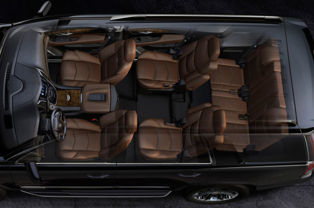 2016 Cadillac Escalade EXT seats