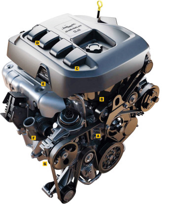 2016 Chevrolet Colorado Diesel engine