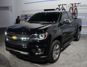 2016 Chevrolet Colorado Diesel front side
