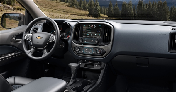 2016 Chevrolet Colorado Diesel interior