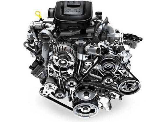 2016 Chevrolet Silverado engine