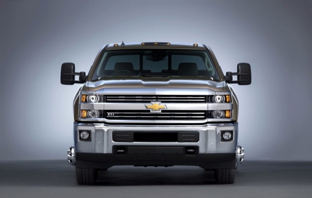 2016 Chevrolet Silverado 3500 HD LTZ crew cab pickup with dual r