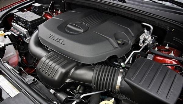 2016 Dodge Dakota engine