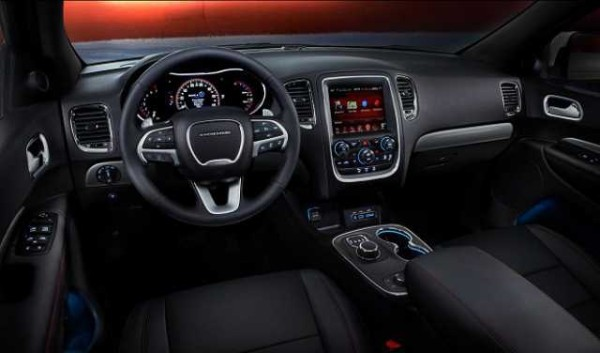 2016 Dodge Dakota interior