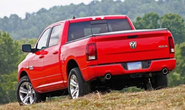 2016 Dodge Dakota rear
