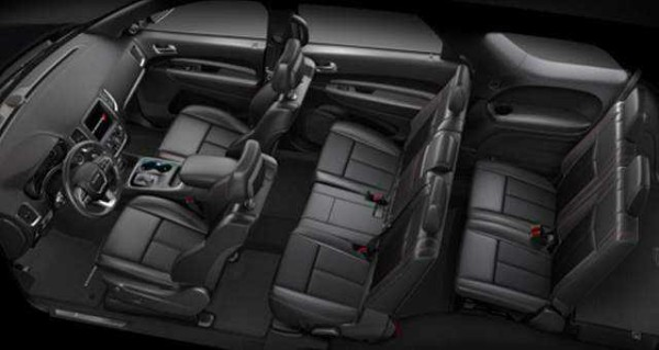 2016 Dodge Dakota seats