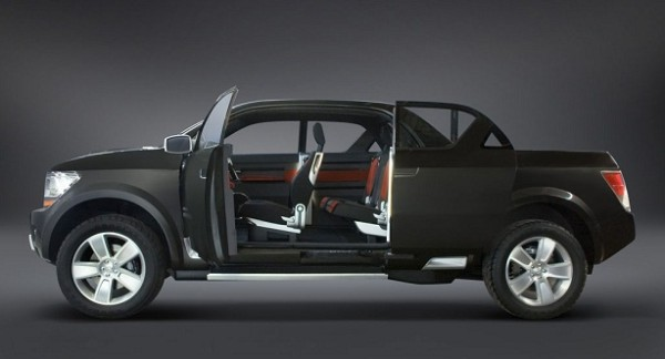 2016 Dodge Dakota side