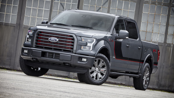 2016 Ford-150 Special Edition grille