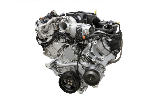2016 Ford F-750 Hybrid engine