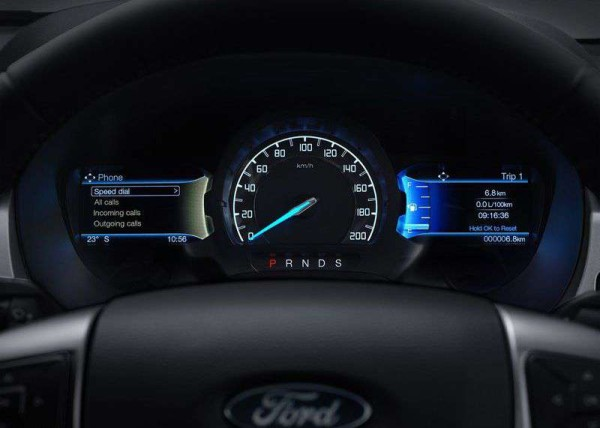 2016 Ford Ranger instrument