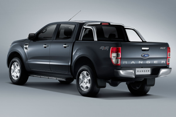 2016 Ford Ranger rear