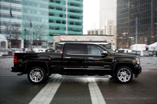 2016 GMC Sierra 1500 Denali Crew Cab on smallest chevy v8 engine