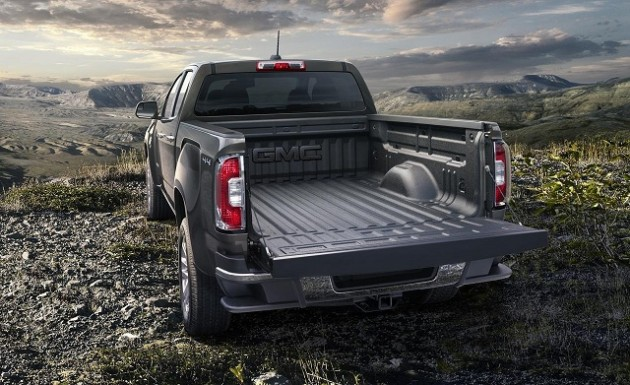 2016 GMC Canyon Diesel cargo space