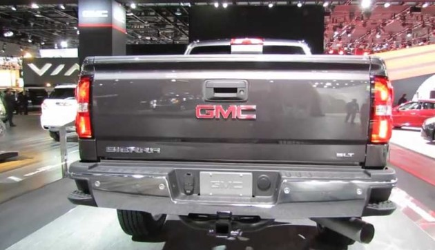 2016 GMC Sierra Diesel rear side