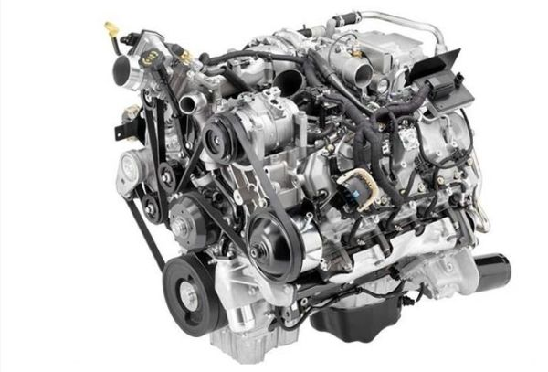 2016 Isuzu Dmax engine