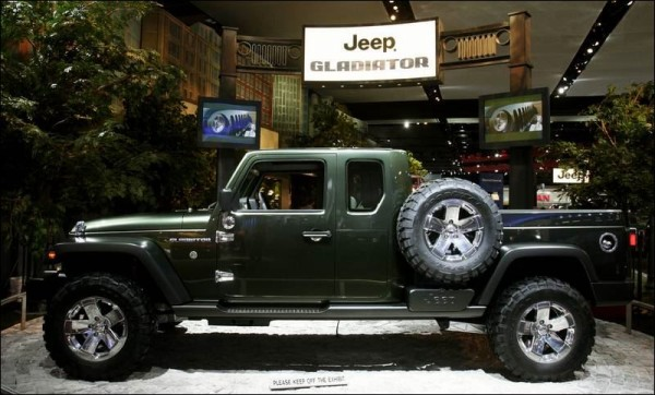2016 Jeep Gladiator side