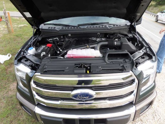 2016 King Ranch Ford F-150 engine