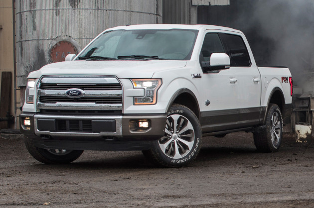 2016 King Ranch Ford F-150 front