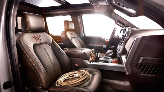 2016 King Ranch Ford F-150 interior