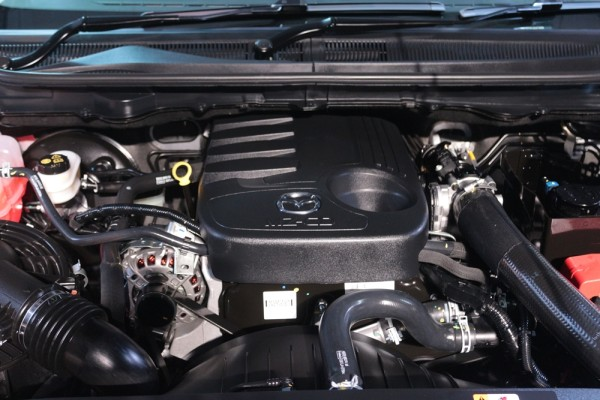 2016 Mazda BT-50 engine