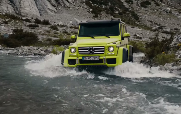 2016 Mercedes-Benz G500 4x4² rivere
