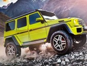 2016 Mercedes-Benz G500 4x4² side