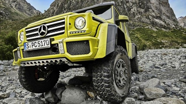 2016 Mercedes-Benz G500 4x4² wheel